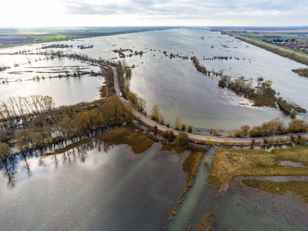 Flooded Fens Landscape - Copyright Ian Burt Photography