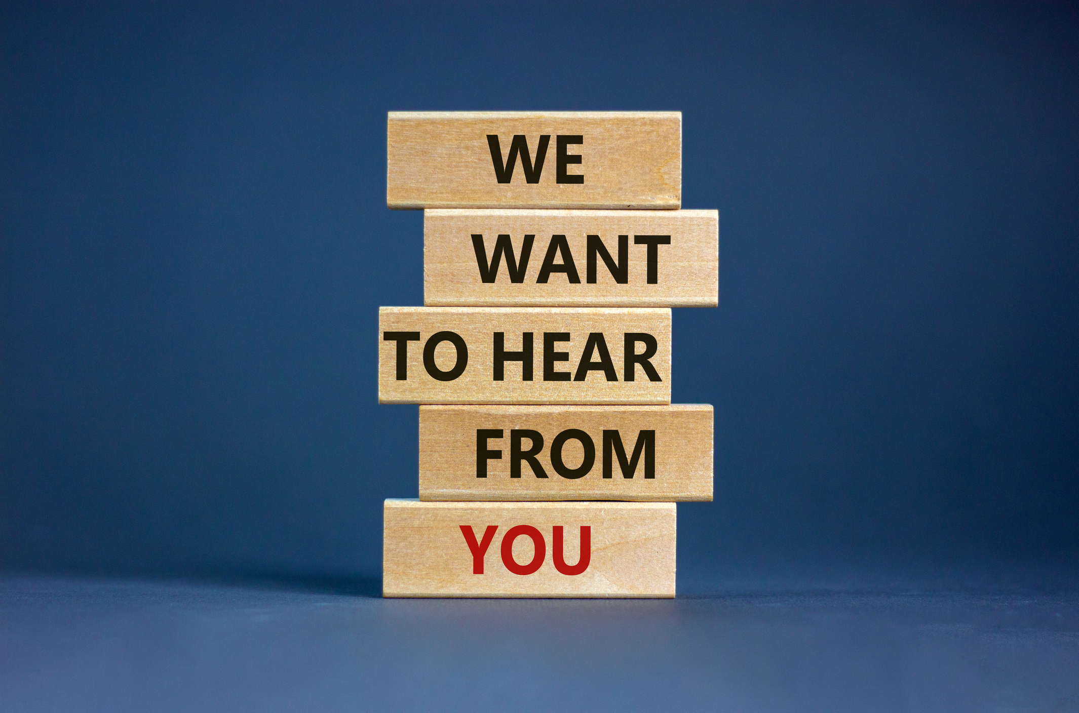 We_want_to_hear_from_you [istock]